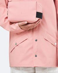 Rains Coral Wash Bag - Pink