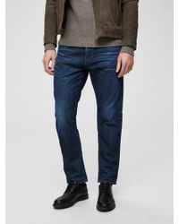 SELECTED Dark Blue Toby Jeans