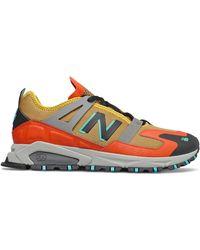 New Balance Xrct Trail Running Trainer Orange Tan - Arancione