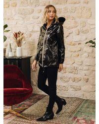 Minimum Raincoat Coupe Vent Black
