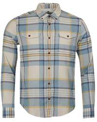 Barbour Internationales Steve Mcqueen TM King Check Slim Fit Shirt - Mehrfarbig