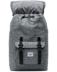 Herschel Supply Co. - Raven Crosshatch And Black 10020-00919 Little America Mid Backpack - Lyst
