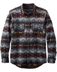Pendleton - La Pine Überhemd Navy Grey Sonora - Lyst