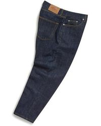 Albam Denim giapponese Taper Fit Jean Indigo - Blu