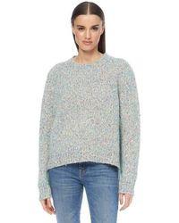 360cashmere - Clarissa Sweater Pale Blue Multi - Lyst