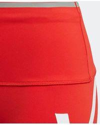 adidas By Stella McCartney True Pace Long Leggings Vivid Red
