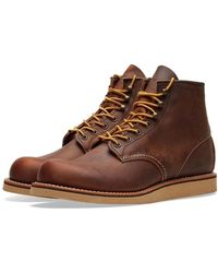 Red Wing Red Wing 2950 Heritage Work Rover Stiefel Kupfer Rough & Tough - Braun