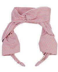 Becksöndergaard Headband Summer Stripes Red