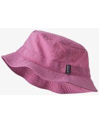 Patagonia Cappello da pescatore Wavefarer Marble Pink - Rosa