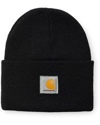 Carhartt Guarda Hat Beanie Black - Nero