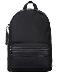 Calvin Klein - Campus Backpack Black - Lyst