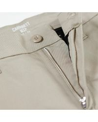 Carhartt Beige Sid Trousers Trousers - Brown
