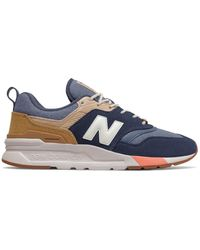 New Balance Zapatos Lifestyle 997 Hombre - Azul