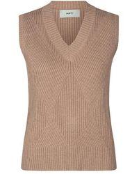 Minimum Maglione senza maniche Julsio in maglia - Multicolore