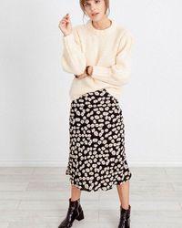 Rails Falda de Londres (margaritas negras o sakura rosa) - Multicolor
