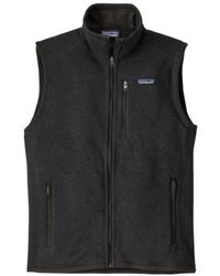Patagonia Chaleco Better Sweater Fleece Negro
