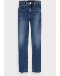 Maison Scotch Haut Cropped Jeans - Blue