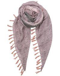 Becksöndergaard Bufanda Serpiente Detallada Rosa - Multicolor