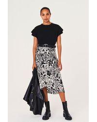 Ba&sh Ba Sh Opera Ecru Skirt - Black