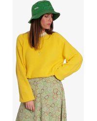 Ganni Island Green Moire Accessories Bucket Hat - Multicolore