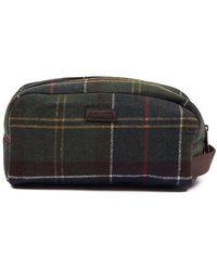 Barbour Borsa in lana scozzese con motivo check classico - Multicolore
