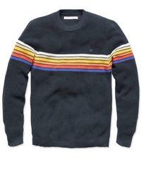 Outerknown Nostalic Jumper Ok Black Rainbow - Multicolour