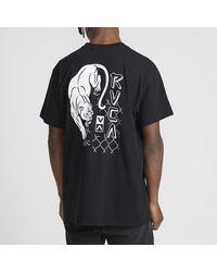 RVCA Prowler Tee Shirt Black