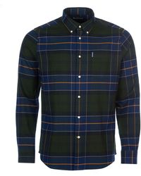 Barbour Camisa de cuadros Lustleigh Forest - Azul