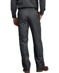 Dickies Pantalone da lavoro originale 874 grigio antracite