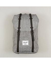 Herschel Supply Co. Herschel Retreat Backpack In Gray Black