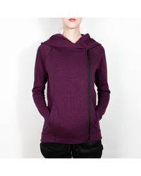 Nike Mulberry Tech Fleece Jacket - Morado