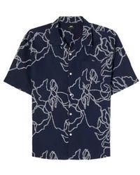 Edwin La chemise - Bleu