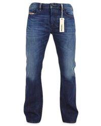 DIESEL Zatiny 8 Xr Jeans bootcut blu scuro