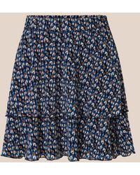 Second Female Edwin Rock Blue Floral - Blau