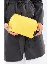Rains Lavare la borsa gialla grande - Multicolore