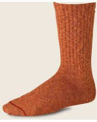 Red Wing Unisex Ragg Cotton Blend Sock Rust Orange
