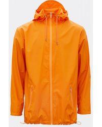 Rains Breaker Fire Orange S M