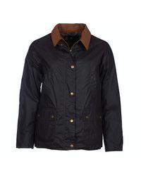 Barbour Lightweight Acorn 4oz Jacket Dark Olive - Blue