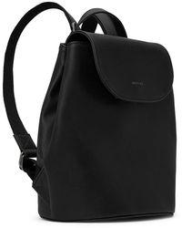 Matt & Nat Soho Vintage Vegan Backpack (more Colours Available) - Black