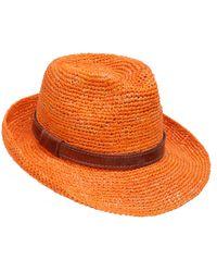 The West Village Naturellement Fedora Orange - Multicolore