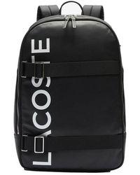 Lacoste Black Backpack