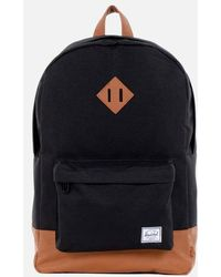 Herschel Supply Co. Zaino Heritage Black Tan - Nero