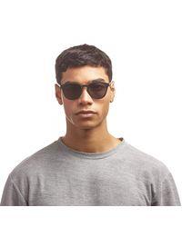 Le Specs Occhiali da sole neri opachi Renegade - Nero