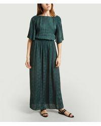 Sessun Eloria Long Dress - Green