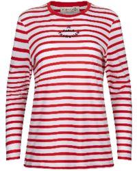 Être Cécile Je Parle Frenglish Long Sleeve T-shirt - Red