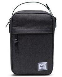Herschel Supply Co. Capitolo Connect Black Crosshatch Bag - Nero