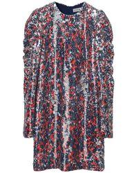 By Malene Birger Https://www.trouva.com/it/products/by-malene-birger-ultramarine-oroya-sequin-dress - Multicolore