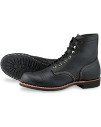 Red Wing 8084 Iron Ranger Black Harness