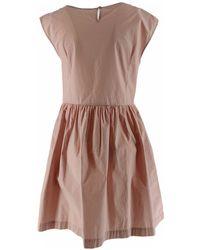 Woolrich Poplin Dress Woman - Multicolour