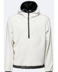 Rains Https://www.trouva.com/it/products/-off-white-fleece-pullover - Multicolore